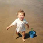 Mike baby beach