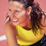 woman sporty